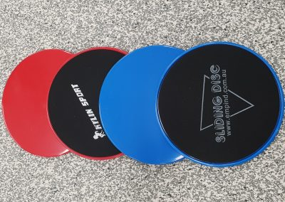 Sliding discs